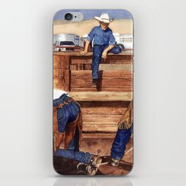Live and Learn iPhone Skin