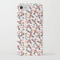 turtles iPhone & iPod Cases featuring Turtles by luizavictoryaPatterns