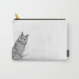 The Long-eared Owl Carry-All Pouch