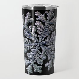 Real snowflake - Hyperion black Travel Mug