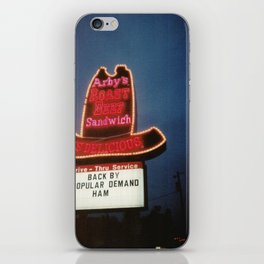 Arby's Roast Beef Sandwich Is Delicious iPhone Skin