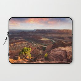 Dead Horse Point Sunset, Utah Laptop Sleeve
