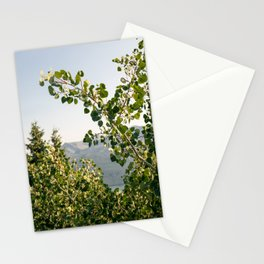Aspen Leaves Stationery Cards