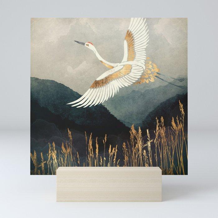 Elegant Flight Mini Art Print