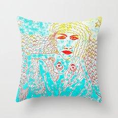 Sea Child Throw Pillow