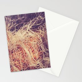 Crumpled fishnet Stationery Cards