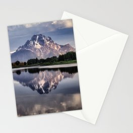 Mt. Moran and the Snake River Stationery Cards