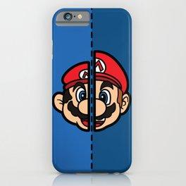 Old & New Mario iPhone Case