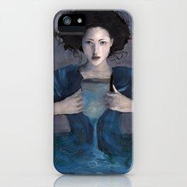 Hurricane Woman iPhone Case