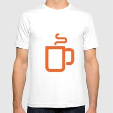 Coffee: The Drink Mens Fitted Tee White SMALL