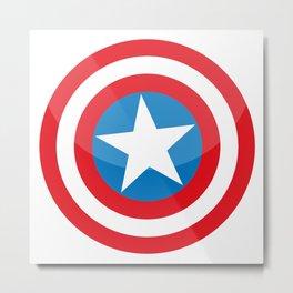 capitan america Metal Print