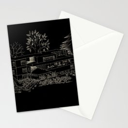 mies house Stationery Cards