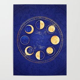 Celestial Atlas :: Lunar Phases Poster