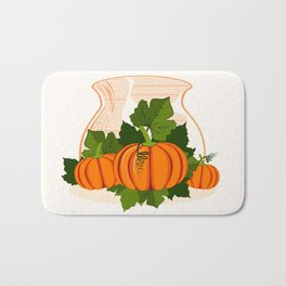 C13D Its Pumpkin Time Bath Mat