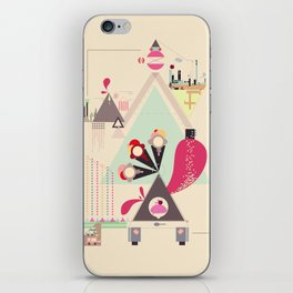 Icecream Volcano iPhone Skin