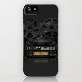 Open Reel 769 iPhone Case