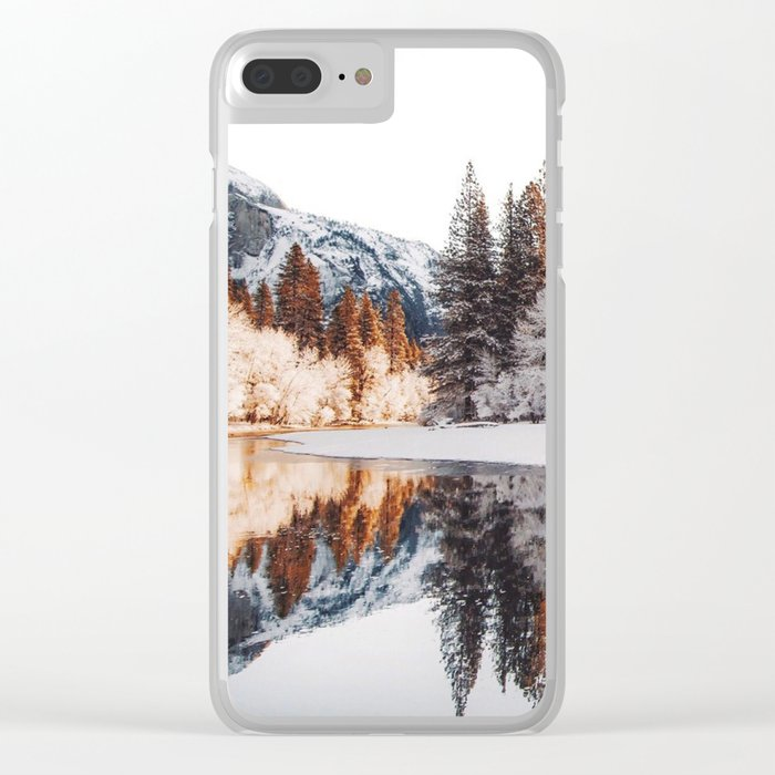 Calm Exploring  #society6 #photography Clear iPhone Case