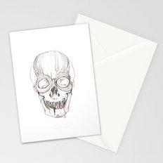Skull study Stationery Cards