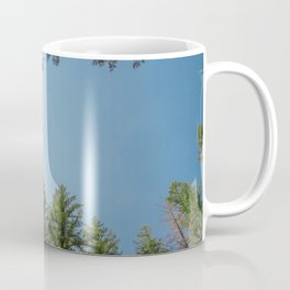 Blue Sky Above Coffee Mug