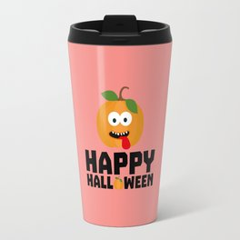 Happy Halloween Pumpkin T-Shirt Dr0lg Travel Mug