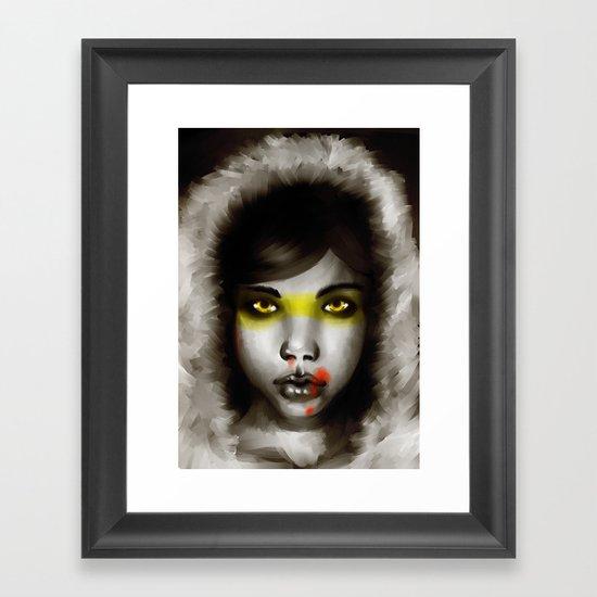 Hunter Hunted Framed Art Print