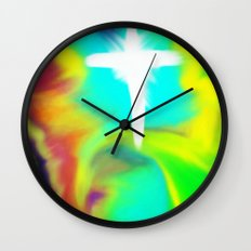 Rapture... a new beginning Wall Clock