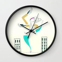 The air dancer-white version Wall Clock