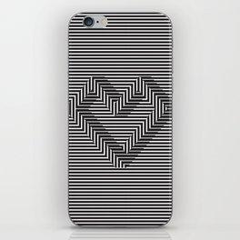 le coeur impossible (nº 1) iPhone Skin