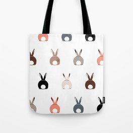 Bunny Butts Tote Bag