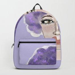 Purple Broccoli Backpack
