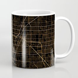 Las Vegas map Coffee Mug