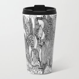 Mysterious Village Travel Mug