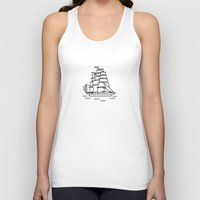 ships Tank Tops featuring Ships Ahoy! by CaptainChrisP