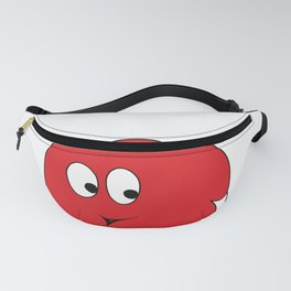 White-tailed Spherical Red Blop Fanny Pack