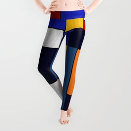 Abstract #351 Leggings