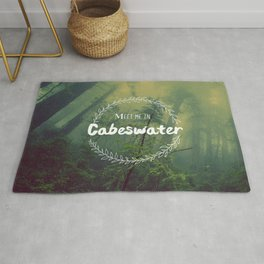 Meet me in Cabeswater Rug
