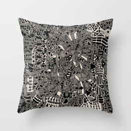 - blackout - Throw Pillow