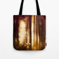 dreams Tote Bags featuring Dreams by Viviana Gonzalez