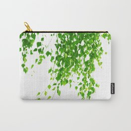 Green Leaves Delight #1 #tropical #decor #art #society6 Carry-All Pouch