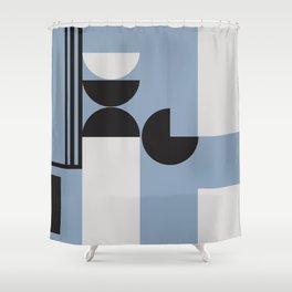 Geometrica 14 Shower Curtain