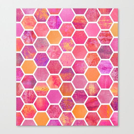 Flowers & Honey Canvas Print