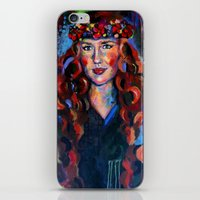 kate bishop iPhone & iPod Skins featuring Kate by Juliette Caron