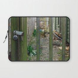 Locked Fence - Seattle, WA Laptop Sleeve