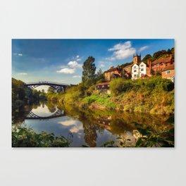 The Iron Bridge Canvas Print