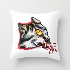 Cyclopes wolf  Throw Pillow