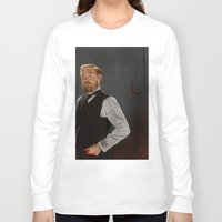 moriarty Long Sleeve T-shirts featuring Moriarty lives by San Fernandez