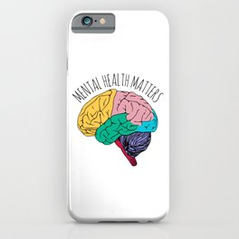 MENTAL HEALTH MATTERS iPhone Case