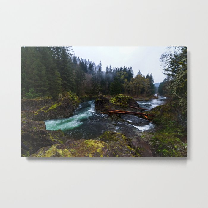 Lucia Falls Metal Print
