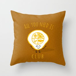 All u need is Adventure Club Throw Pillow