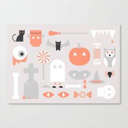 #24 Halloween Canvas Print